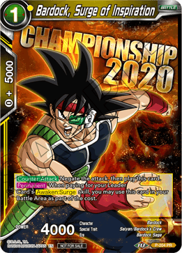 Bardock, Surge of Inspiration