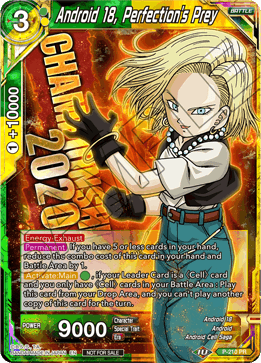 Android 18, Perfection's Prey