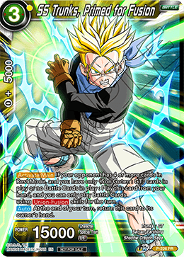 SS Trunks, Primed for Fusion
