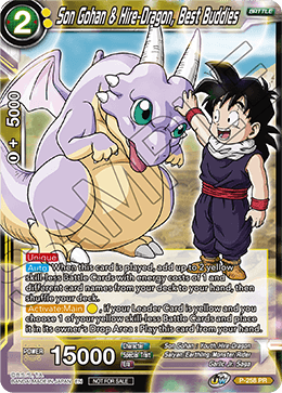 Son Gohan & Hire-Dragon, Best Buddies