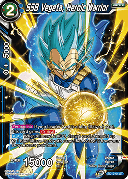 SSB Vegeta, Heroic Warrior