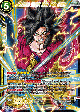 Reborn Might SS4 Son Goku