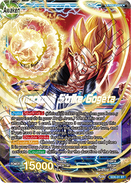 DRAGON BALL SUPER CARD GAME STARTER DECK ~RESURRECTED FUSION