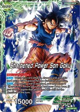 Sharpened Power Son Goku