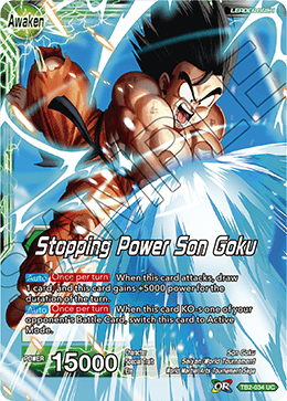 Stopping Power Son Goku