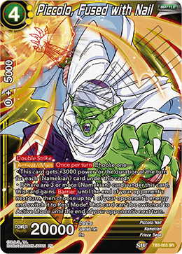 Piccolo, Fused with Nail