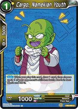 Cargo, Namekian Youth