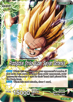 Prodigious Strike Super Saiyan Gotenks