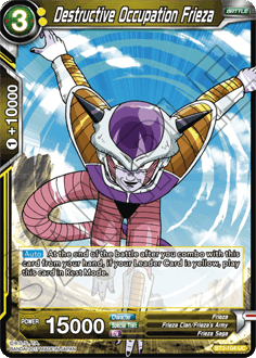 Destructive Occupation Frieza
