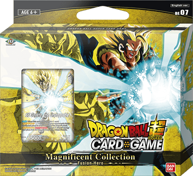 DRAGON BALL SUPER CARD GAME Magnificent Collection -Fusion Hero- [DBS-BE07]