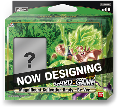 DRAGON BALL SUPER CARD GAME Magnificent Collection Broly: Br Ver. [DBS-BE08]