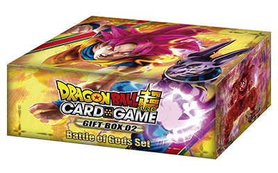 DRAGON BALL SUPER CARD GAME GIFT BOX [DBS-GE02]