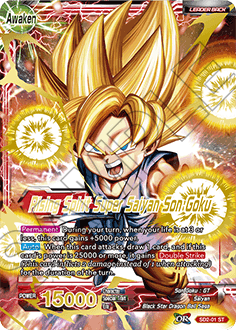 Rising Spirit Super Saiyan Son Goku