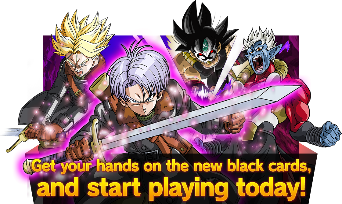 Get your hands on the new black cards, and start playing today!