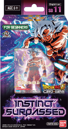STARTER DECK 11 ~INSTINCT SURPASSED~ [DBS-SD11]