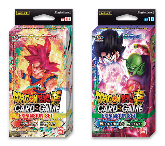 Expansion Sets - Saiyan Surge and Namekian Surge <EX09, EX10>