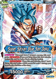 BT1-030 Super Saiyan Blue Son Goku