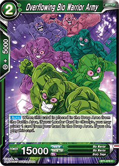 BT1-078 Overflowing Bio Warrior Army