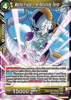 BT1-090 Mecha-Frieza, The Returning Terror