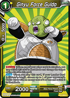 BT1-089 Ginyu Force Guldo