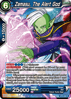 BT2-056	Zamasu, The Alert God