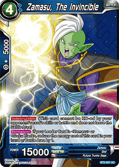 BT2-057	Zamasu, The Invincible