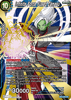 Zamasu Fusionné Dragon Ball Super Card Game Fusion Parachevée EX06-13 VF