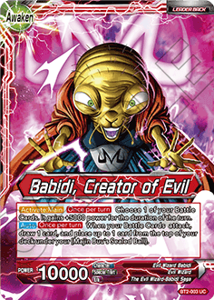 BT2-003 Babidi, Creator of Evil