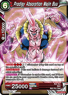BT2-026 Prodigy Absorption Majin Buu